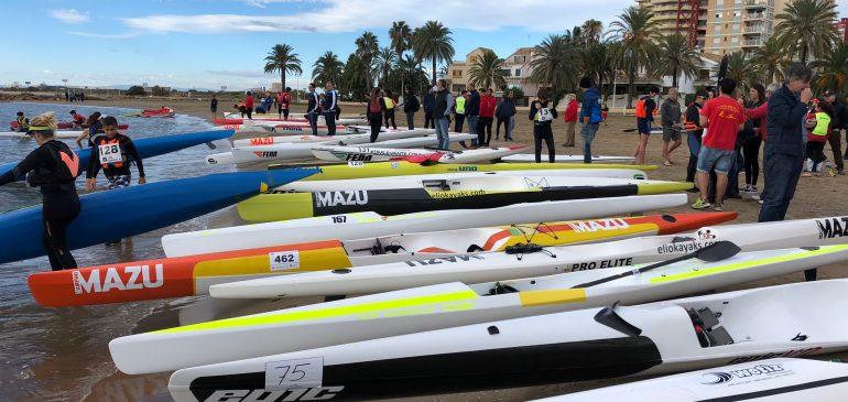 Pobla Marina acoge el XVI Campeonato Autonómico de Kayak de Mar