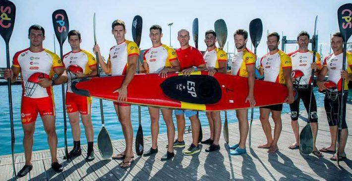 La selección nacional de Kayak Polo vuelve este fin de semana a Marina Burriananova para preparar el Campeonato del Mundo 2018