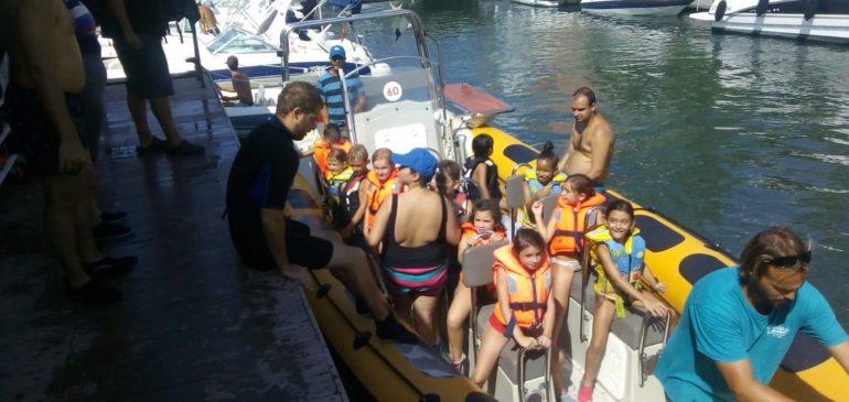 Marina Nou Fontana celebra una jornada de actividades marítimas
