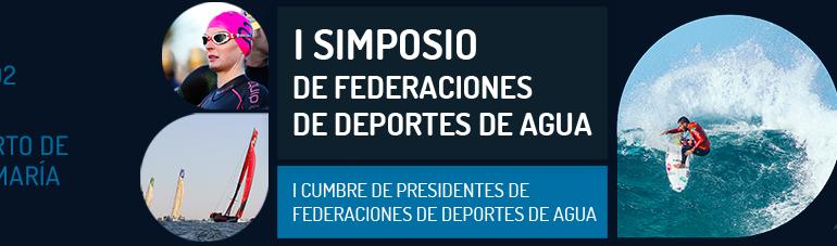 El Puerto de Santa María acoge el I Simposio de Federaciones de Deportes de Agua y Cumbre de Presidentes